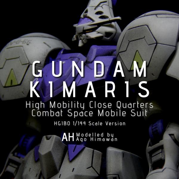 HGIBO 1/144 Gundam Kimaris