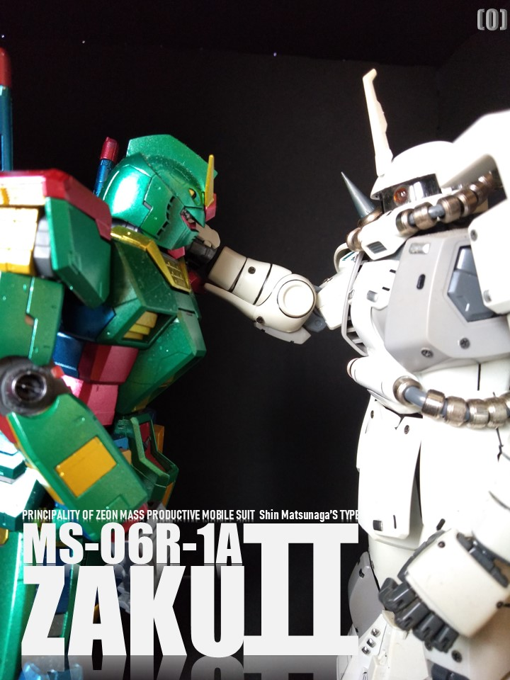 MS-06R-1A ZAKUⅡ No2