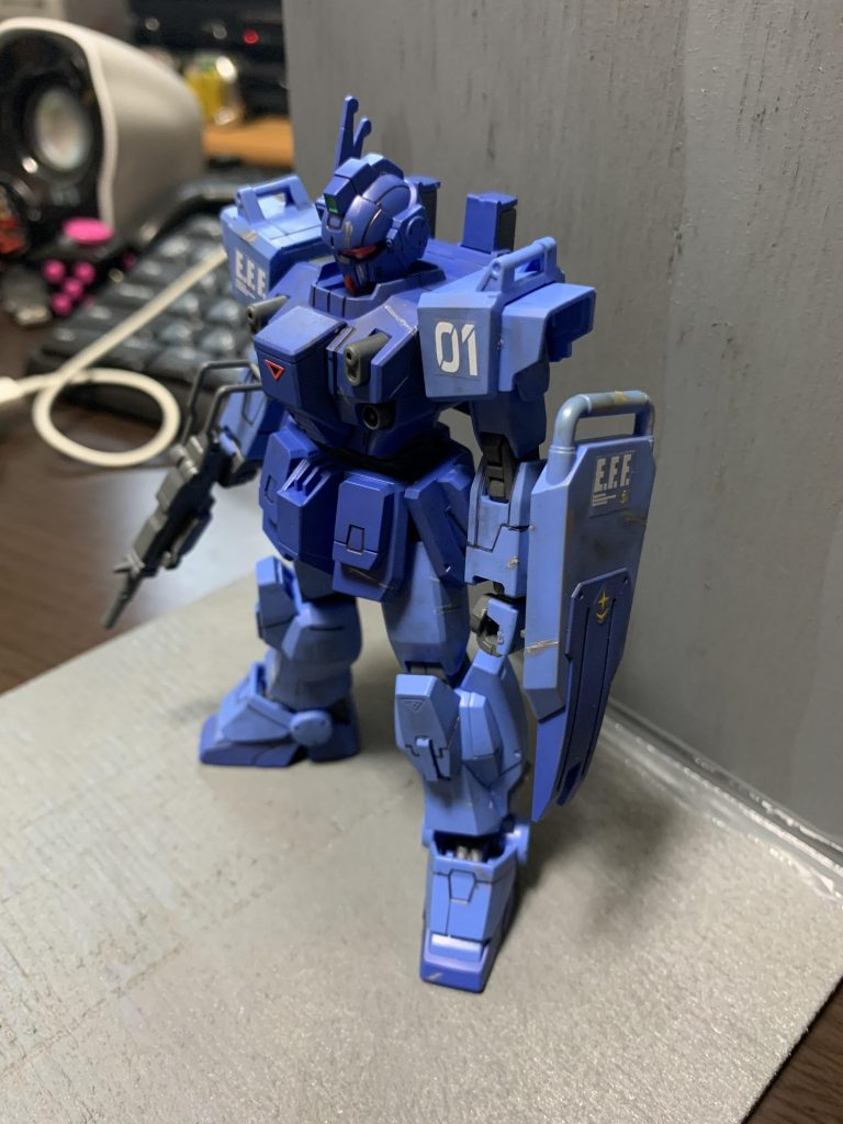 戦慄のブルー