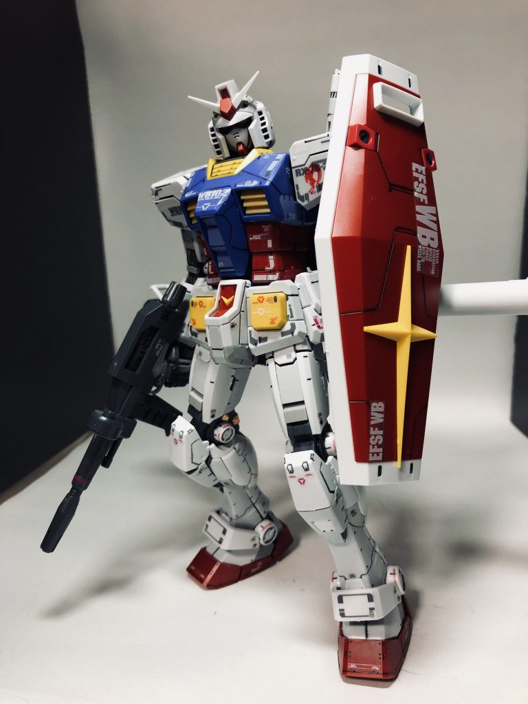 MGガンダムRX78ver.3
