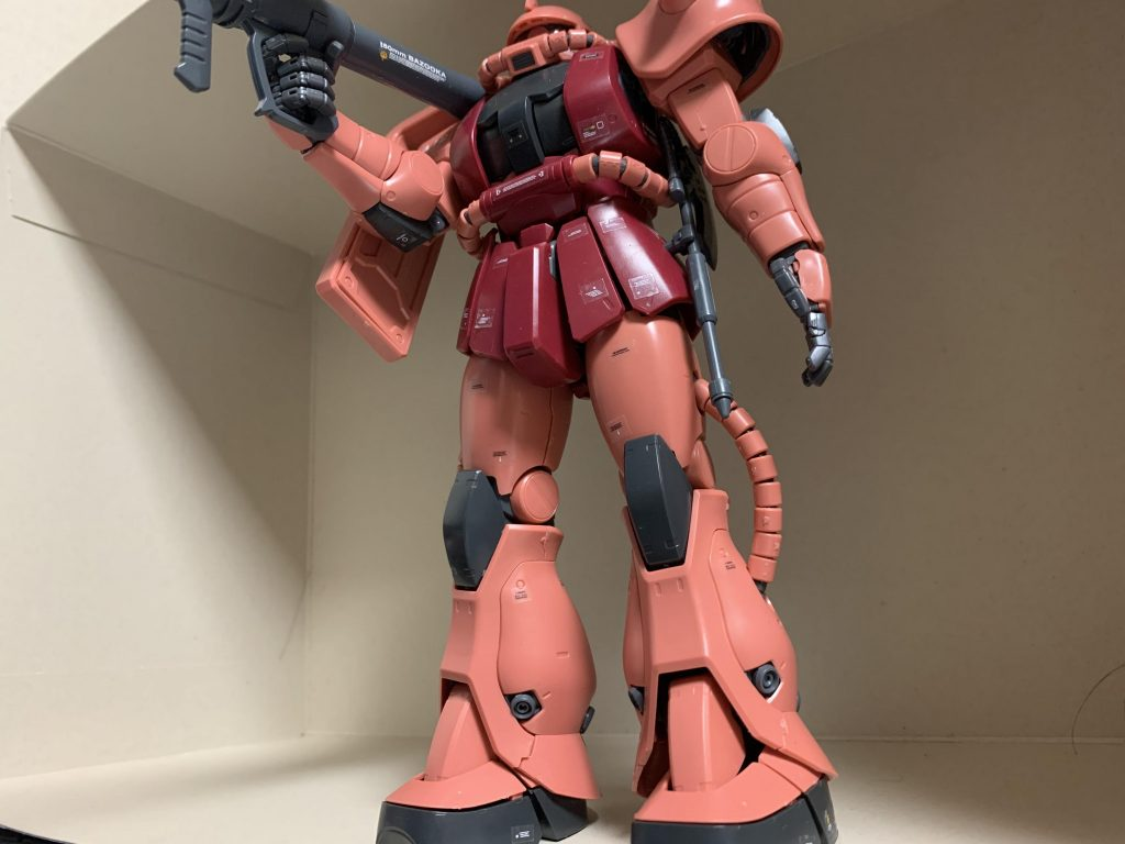 MG シャア専用ザクⅡ MS-06S