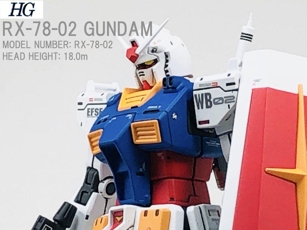 RX-78-02 GUNDAM【オリジン版⠀】