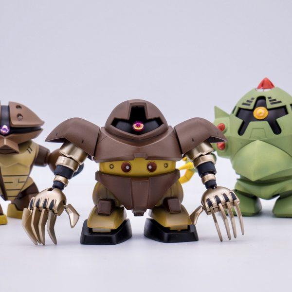 BB戦士 ゴッグ&アッガイ&ゾック SDガンダム