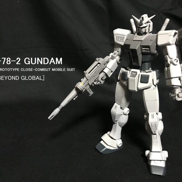 HG RX-78-2 ガンダム(BEYOND GLOBAL)