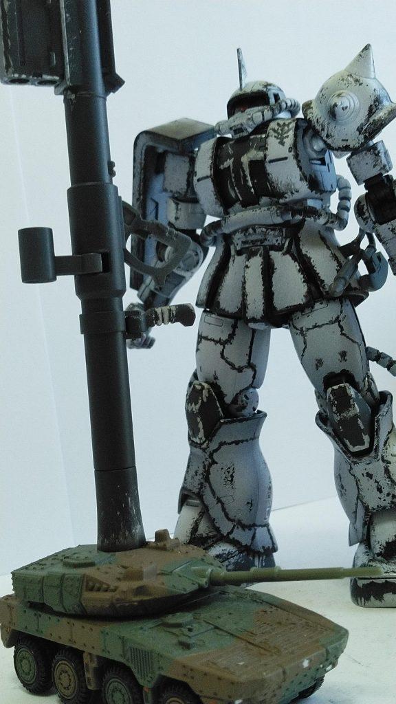 ザクⅡ(エルマー・スネル機)ホワイトオーガー