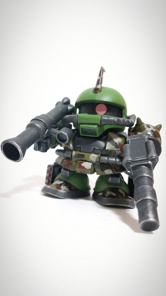 BB戦士 ザクⅡ フル装備型
