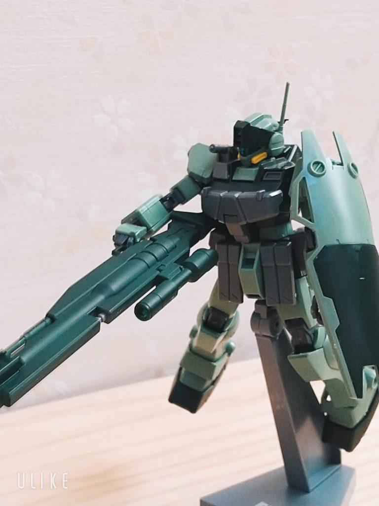 【6歳ガンプラ】HG GM SNIPER K9