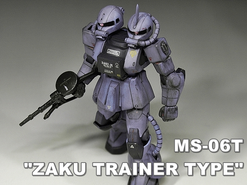 "FG MS-06T ""ZAKU TRAINER TYPE"""