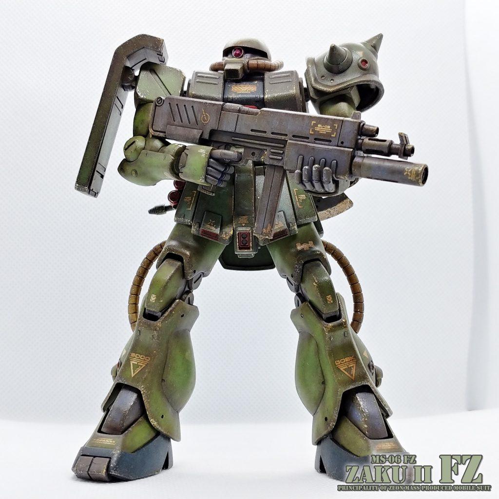 HG ザクⅡ改 MS-06FZ