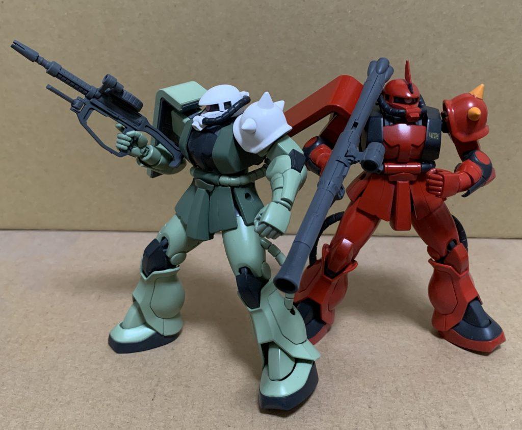 シンマツナガ専用ザクF型