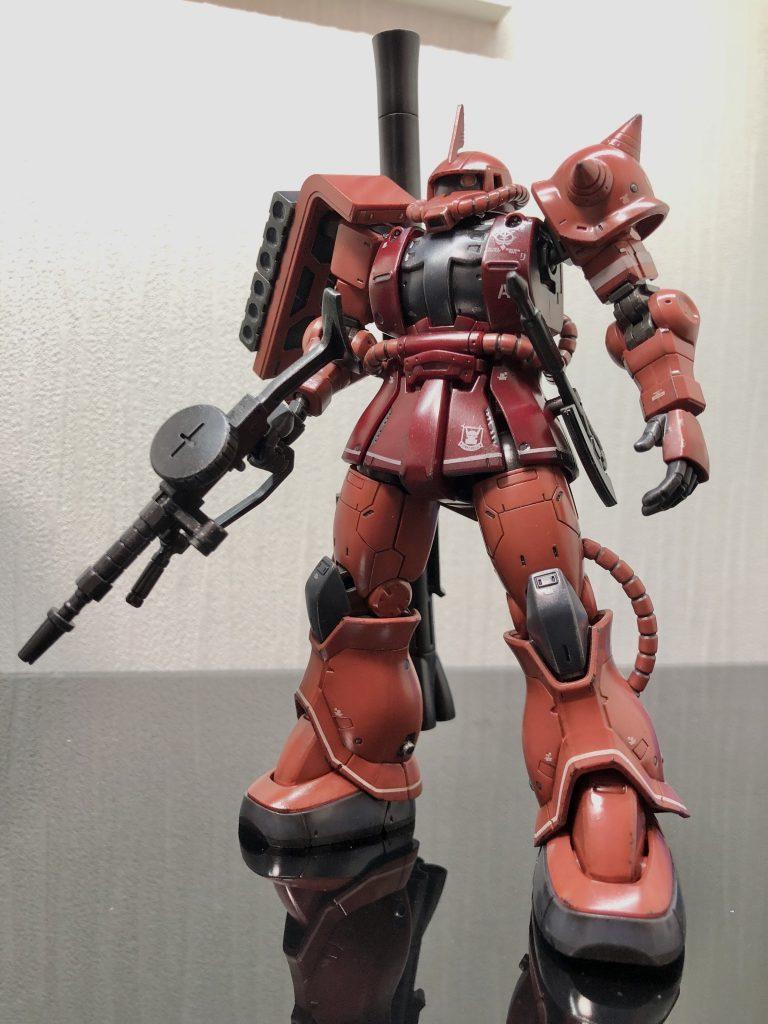 HG 1/144 MS-06S シャア専用ザクⅡ