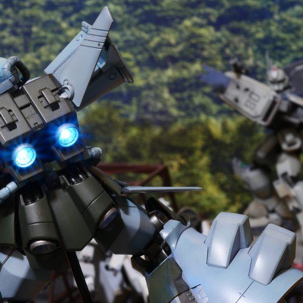 ガンダム情景模型「三次元との戦い」
