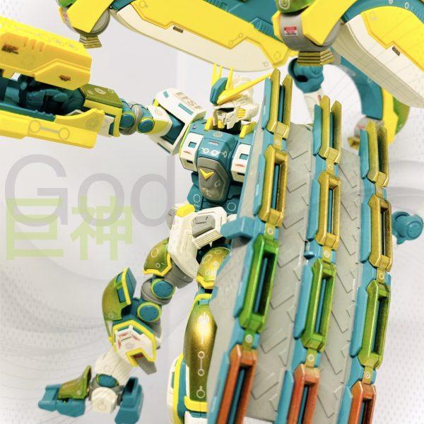 ティーターンアトラスガンダム/ Τιτάν Ἄτλας Gundam