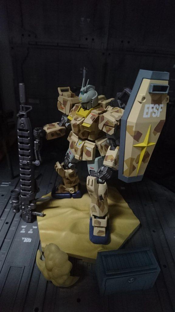 HG陸戦型ガンダムS型砂漠ver.
