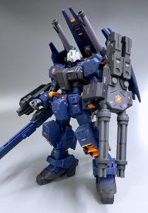RGM-79Q-A ジムクゥエル(後期型)アーマード