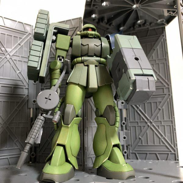 HG ザクⅡ(重装備仕様)
