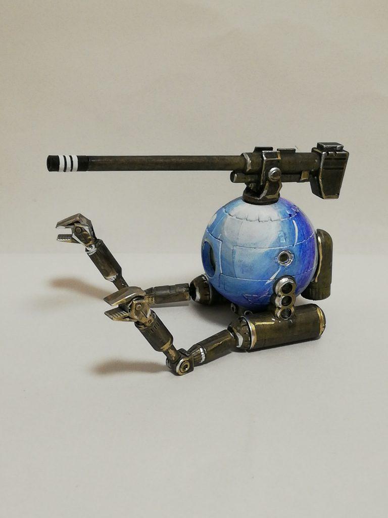 HGボール 青いビー玉風仕上げ