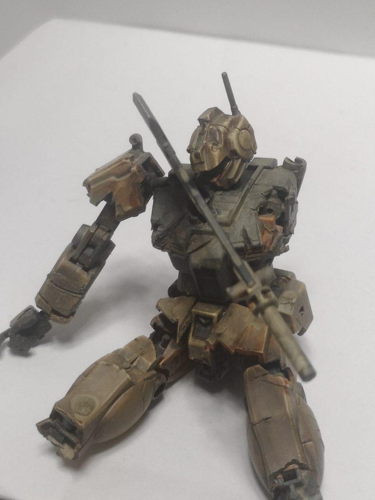 ジム壊〜散りゆく戦士〜 【欠損注意】