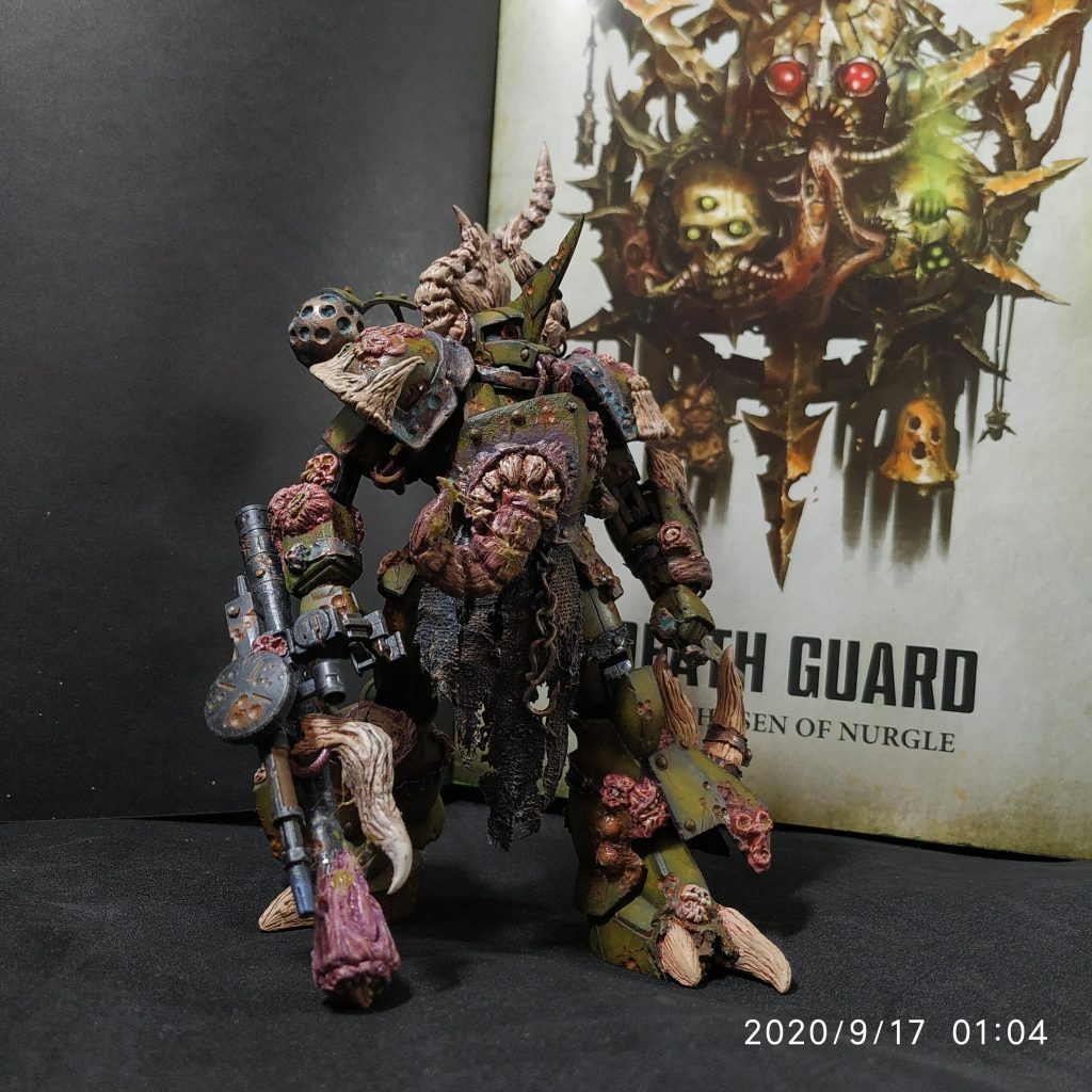 Warhammer my zaku(death guard