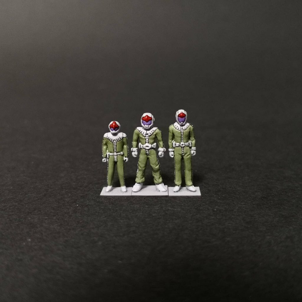 緑の三連星★★★
