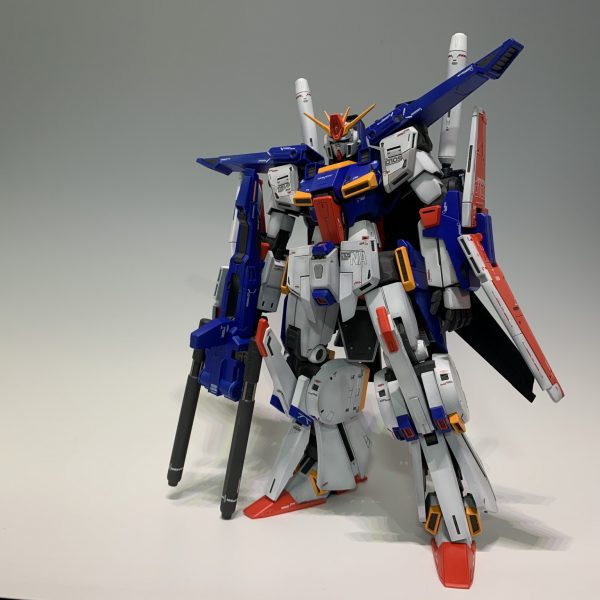 MG 強化型ZZガンダム