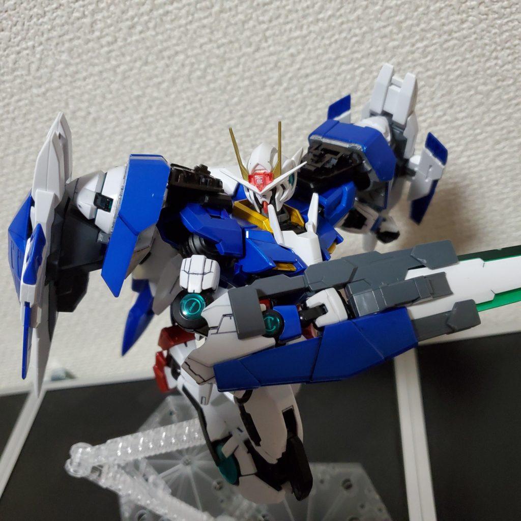 【初スプレー塗装】MG ダブルオーライザー
