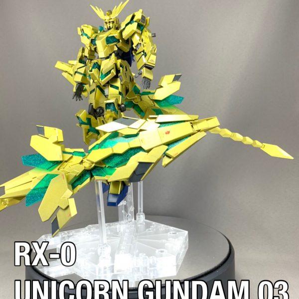 "RX-0 UNICORN GUNDAM 03 PHOENIX ""psychic"""