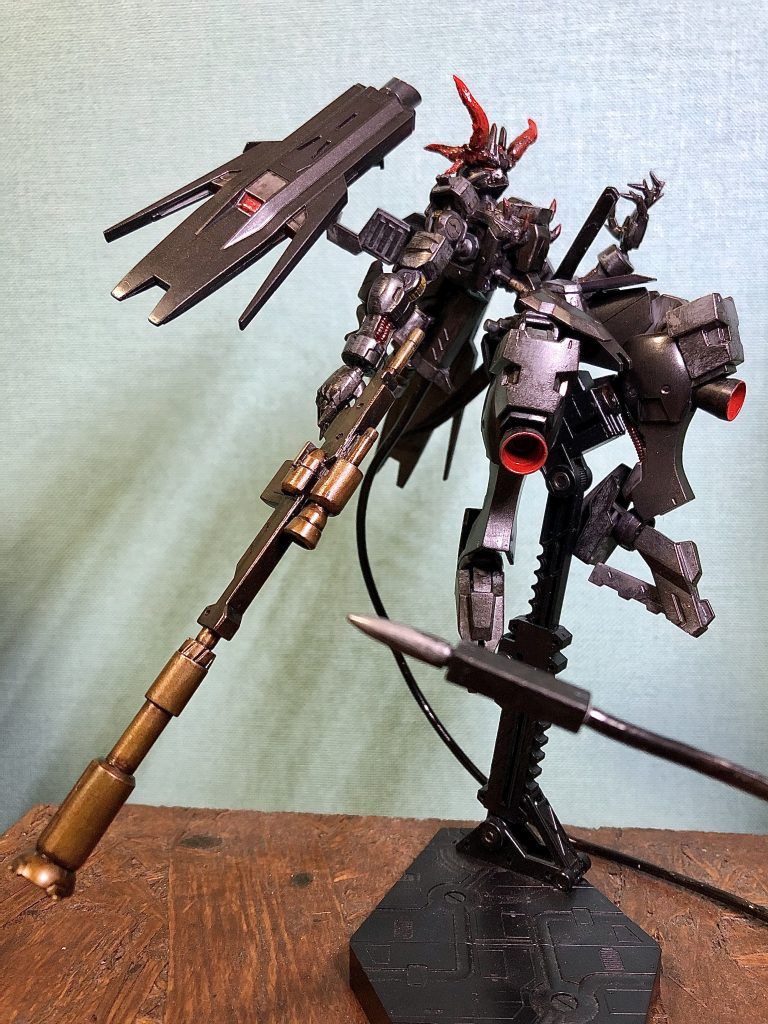 【武器追加】鉄血の悪魔レッドホーン