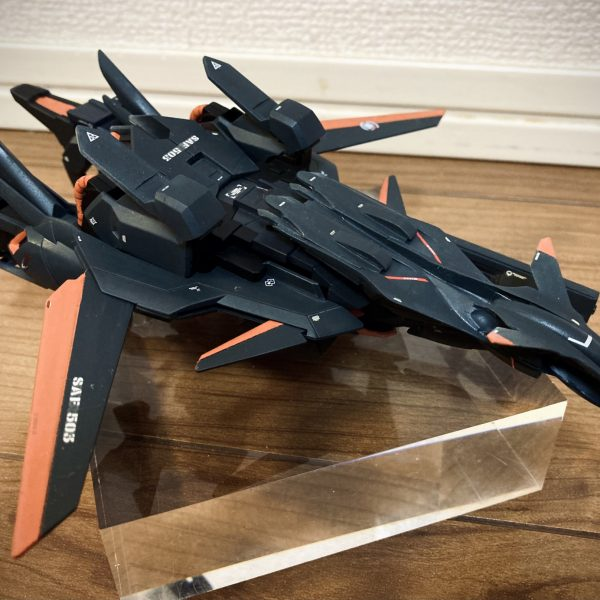 HG デルタプラス フェアリィ空軍機