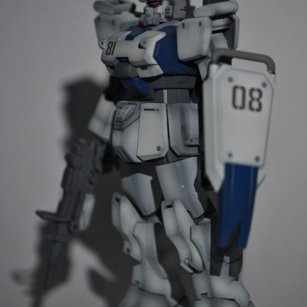 初投稿&初ガンプラ 【HGUC 1/144】 ガンダム Ez-8