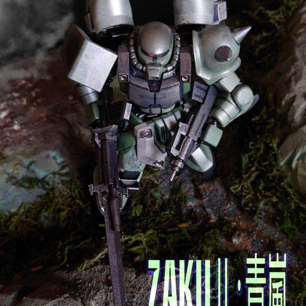 ZAKUⅡ:青嵐