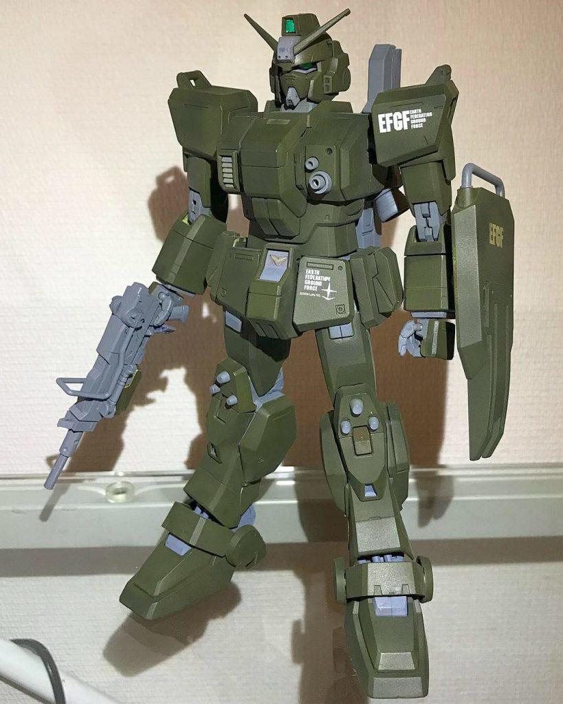 1/100 RX-79(G)陸戦型ガンダム 密林塗装