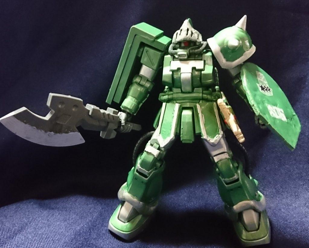 戦士ザクF2