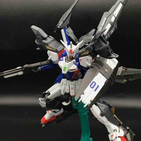 HGガンダムジェミナス01(アサルトブースター&高機動ユニット)