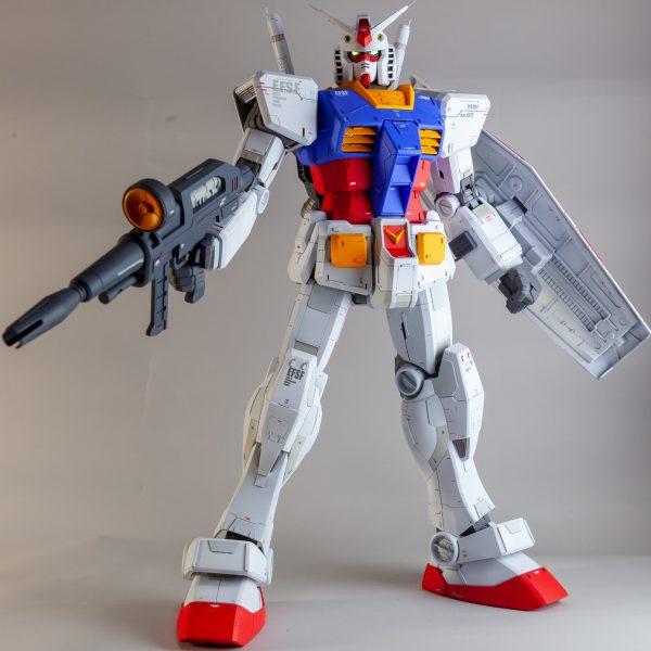 メガサイズモデル「1/48 RX-78-2 ガンダム」