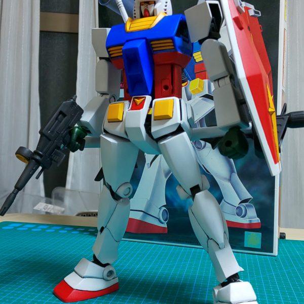 1/100(旧キット)RX-78 ガンダム