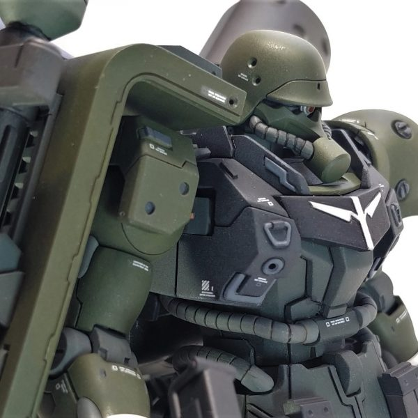 hgギラズール ランゲ・ブルーノ砲改・重装用バックパック装備