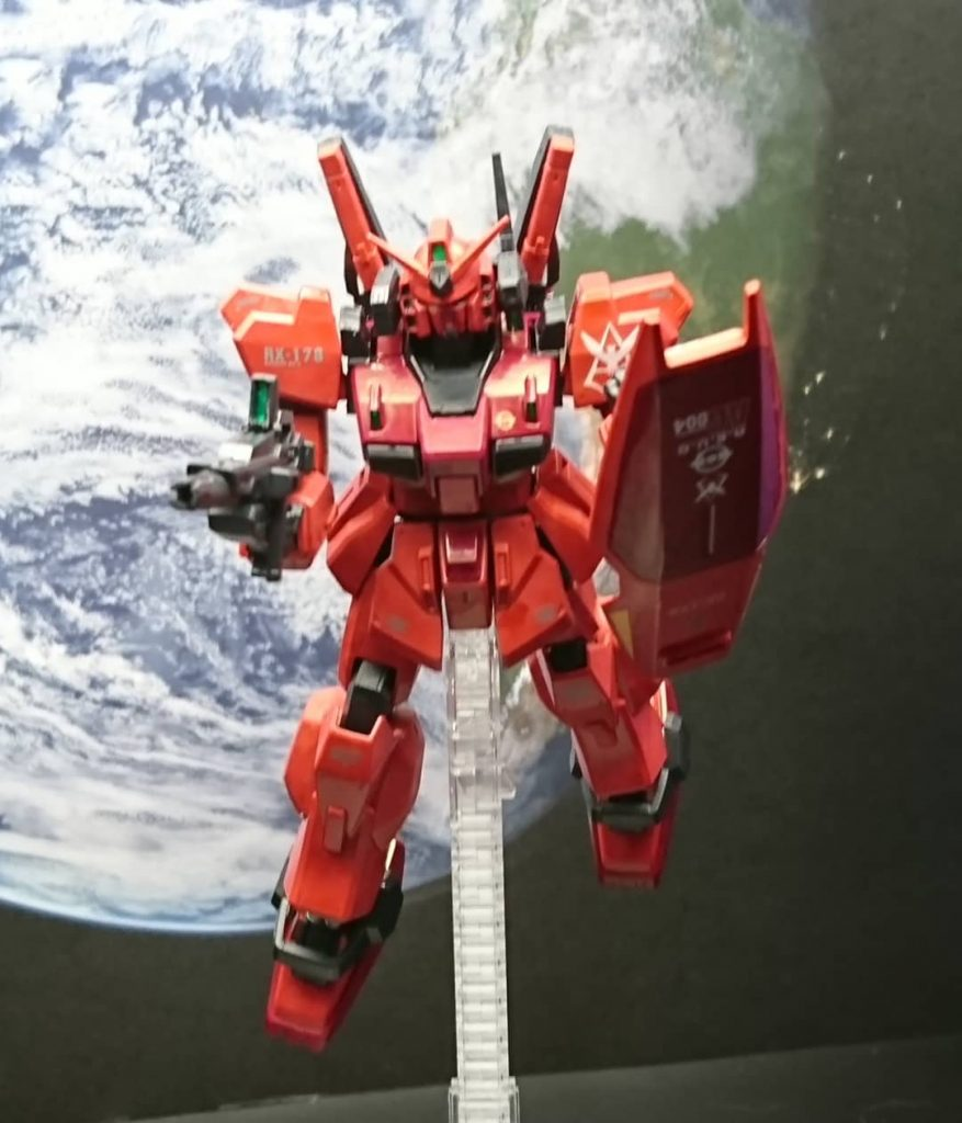 HGUCガンダムマークⅡシャア(クワトロ)専用機完成です!m(__)m