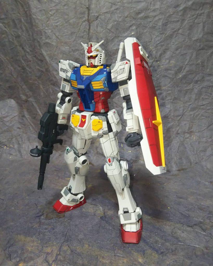 1/100RX-78F00ガンダム