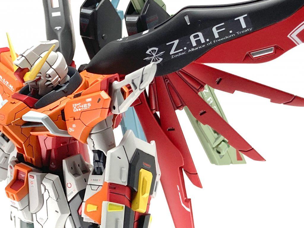 【HGCE】ZGMF-X42S-REVOLUTION ハイネ専用デスティニー