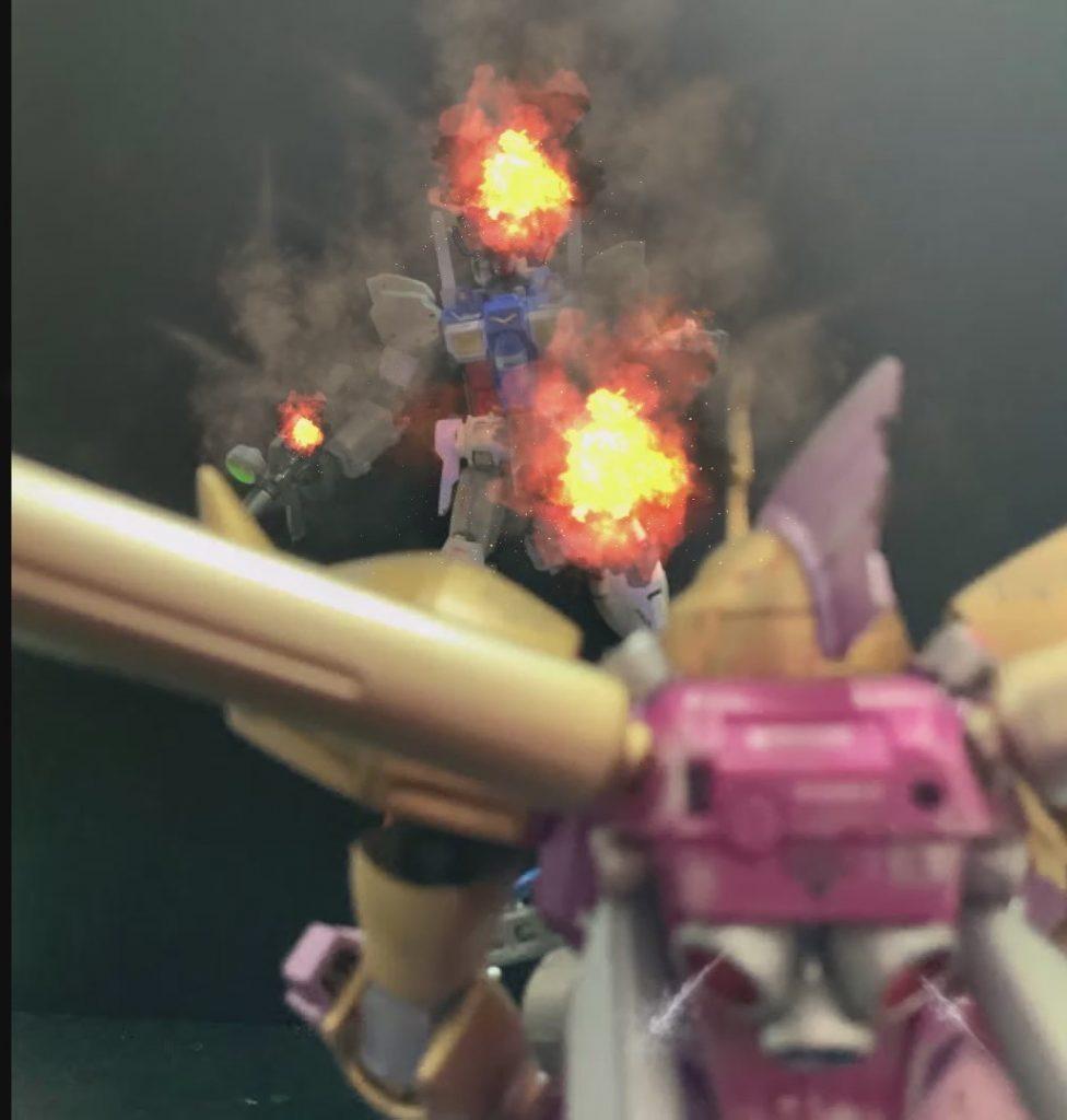 なんて装甲だい!! (シーマ様談) HGゲルググマリーネシーマ仕様 HGガンダム試作1号機