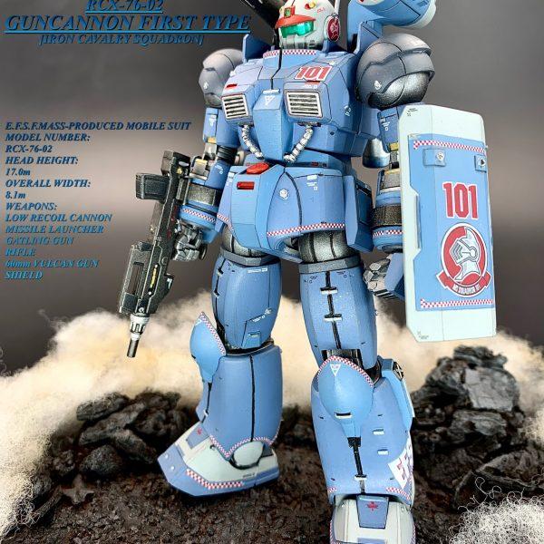 THE ORIGIN ガンキャノン 最初期型 (鉄騎兵中隊機)