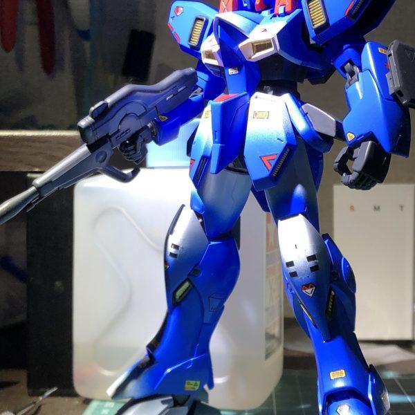 GUN EZ(Ground type-Blue bird team custom