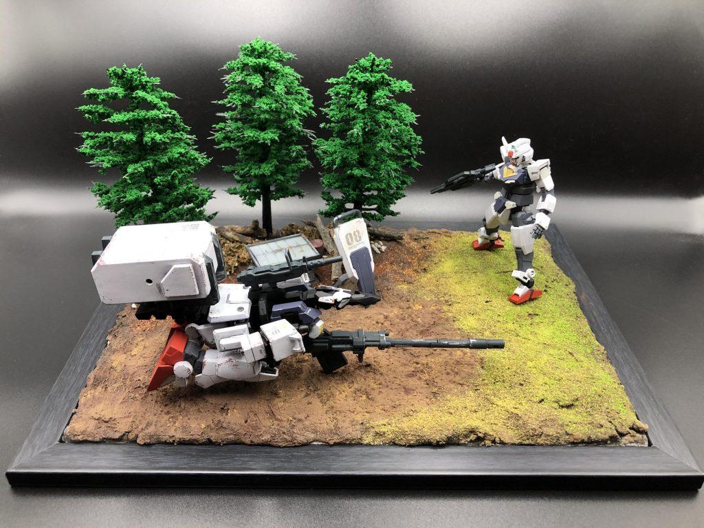 陸戦型(コア)ガンダム