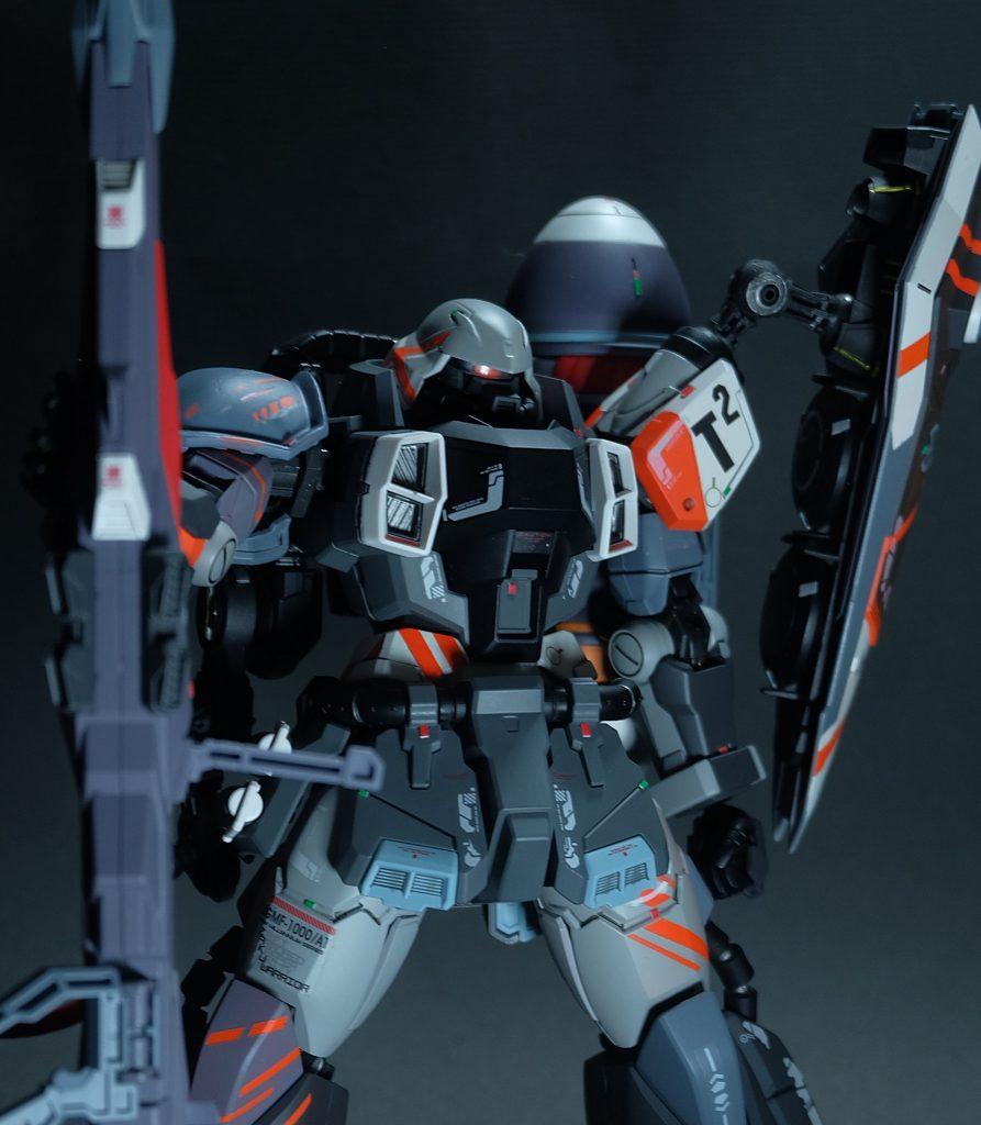 ザクウォーリアT²部隊仕様 ガナー装備