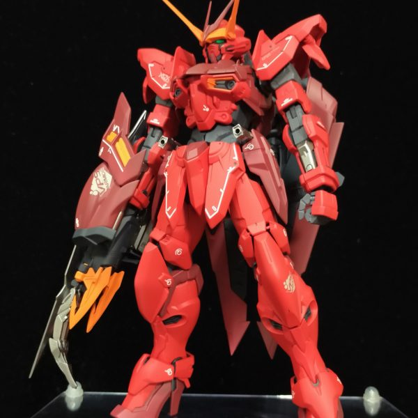MG RGX-00 TESTAMENT GUNDAM 【Rosso】