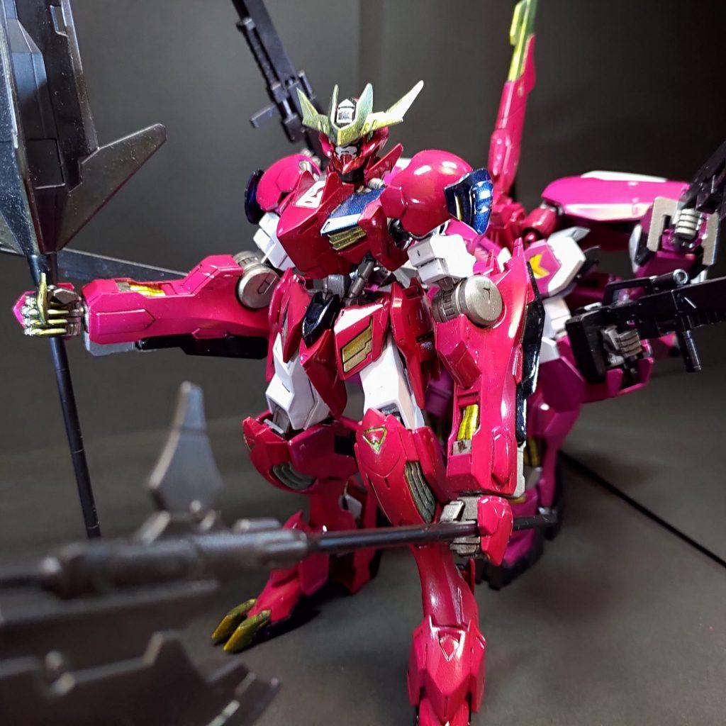 ガンダム・ルプスレクスIBS(Iron Blooded Survivor)