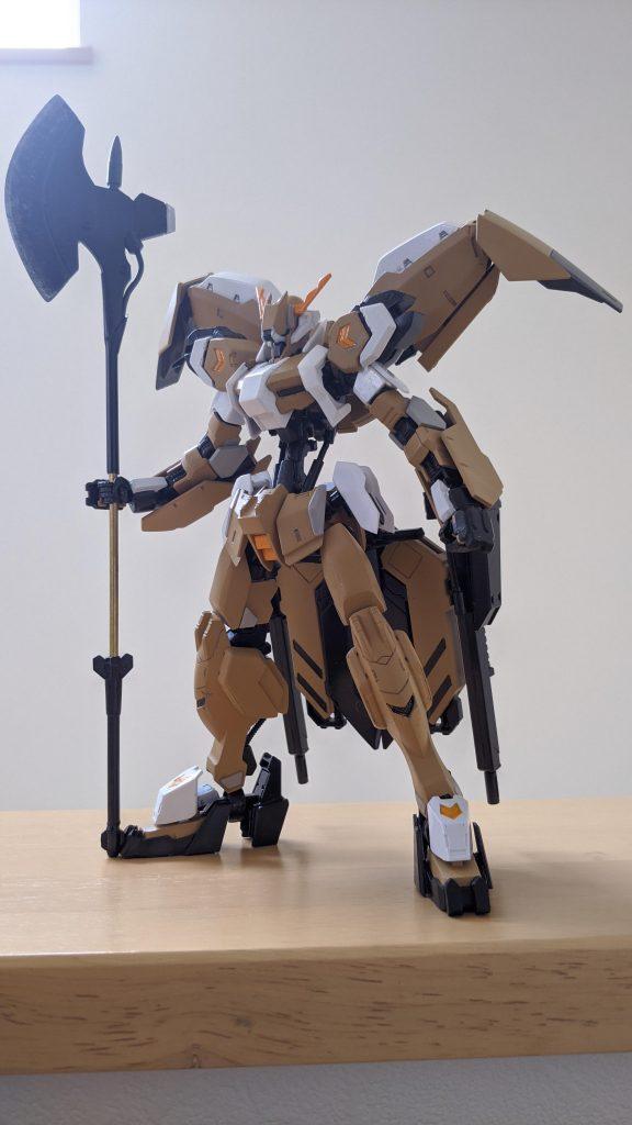 "HGガンダムグシオンリベイクフルシティ""Metal Robot魂風…?"""