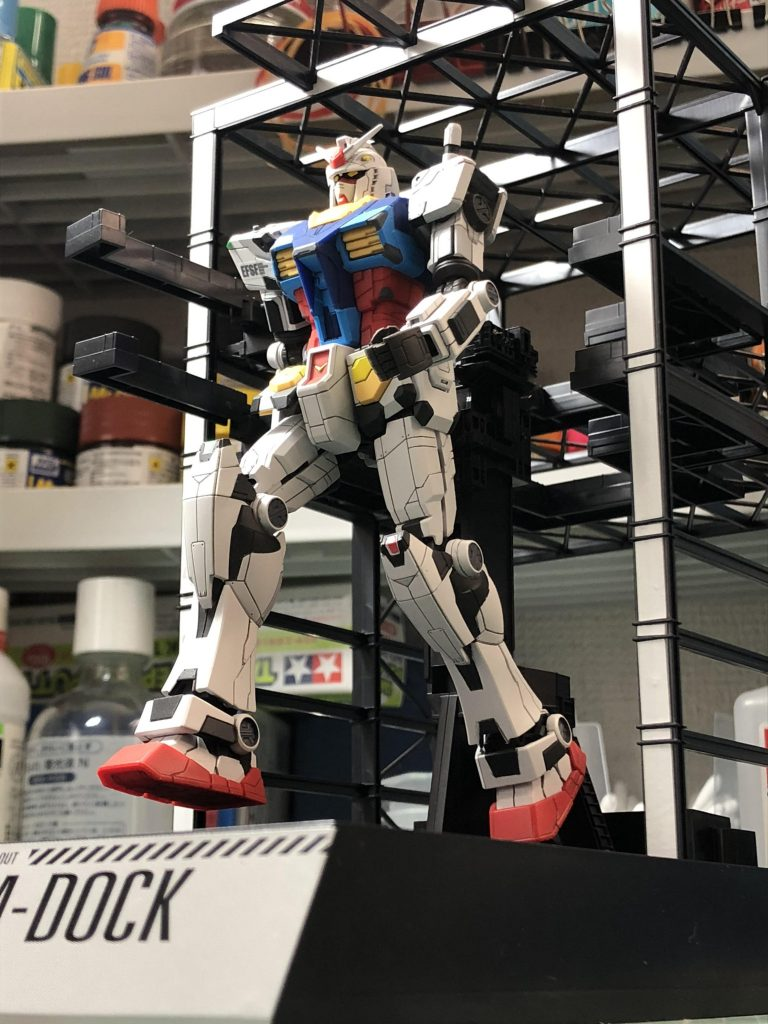 RX-78F00 ガンダム 起動!