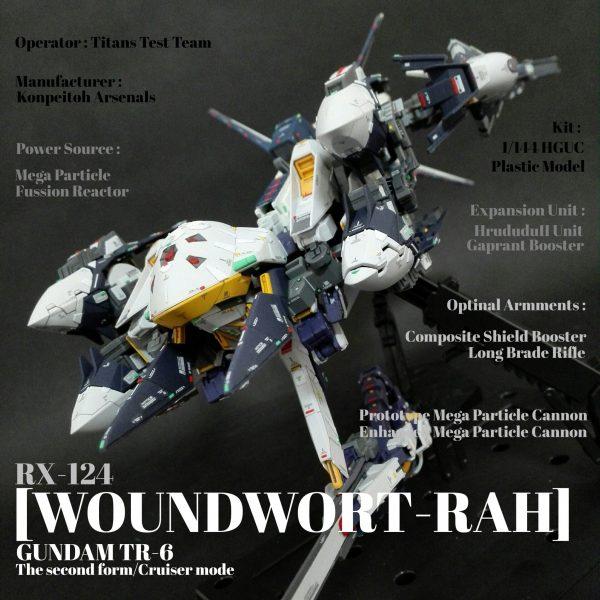 HG ガンダムTR-6[ウーンドウォート・ラー](第ニ形態/巡航形態)